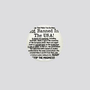 Not Banned In The USA! Mini Button