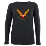 Music Save Lives - Guitar Wings Y T-Shirt
