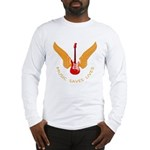 Music Save Lives - Guitar Wings Y Long Sleeve T-Sh