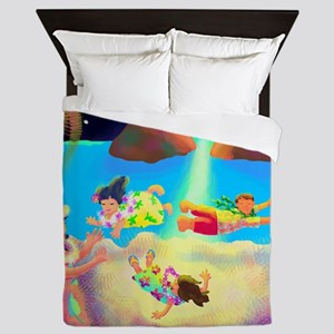 Keikis First Flying Lesson Queen Duvet