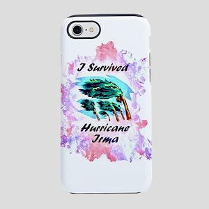I Survived Hurricane Irma iPhone 7 Tough Case