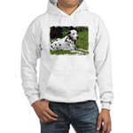 ...Dalmatian 02... Hooded Sweatshirt
