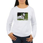 ...Dalmatian 02... Women's Long Sleeve T-Shirt