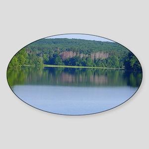 Scituate Reservoir Sticker (Oval)