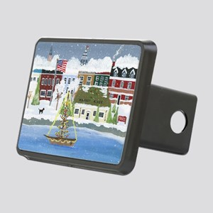 Christmas in Annapolis Rectangular Hitch Cover