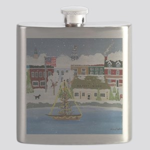 Christmas in Annapolis Flask