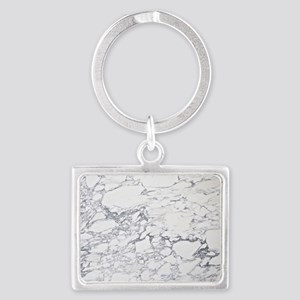 marble calendar Landscape Keychain