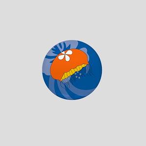 Jellyfish Round Keychain Mini Button