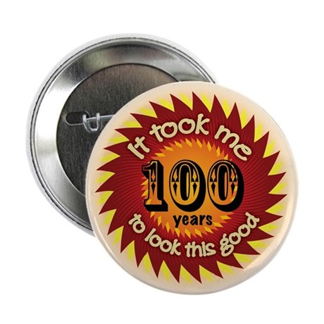 """100 years 2.25"""" Button (100 pack)"""