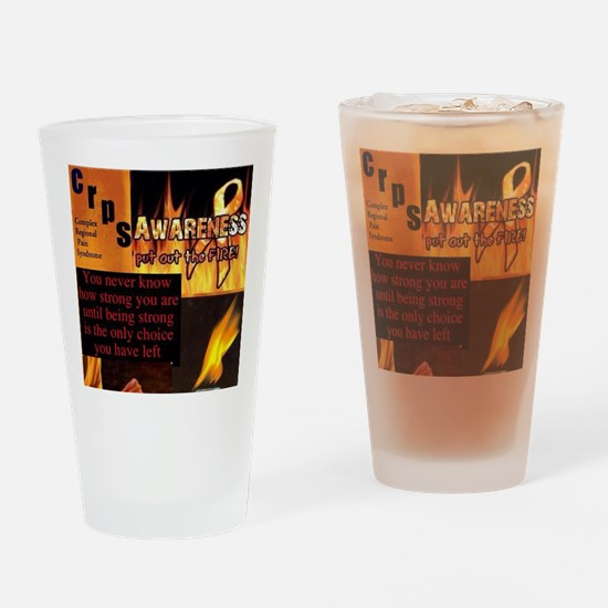 CRPS Awareness Syndrome Drinking Glass