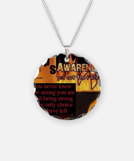 CRPS Awareness Syndrome Necklace