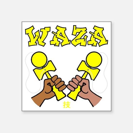 "Kendama Waza Square Sticker 3"" x 3"""