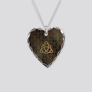 Triquetra - iPad Sleeve Necklace Heart Charm