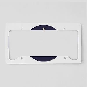 Radiodust Star Logo License Plate Holder