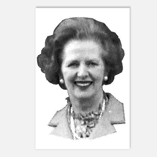 Margaret Thatcher Postcards (Package of 8)