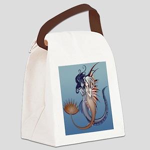 Anime mermaids Canvas Lunch Bag