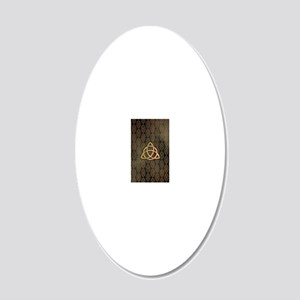Triquetra - iTouch4 and Gala 20x12 Oval Wall Decal