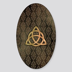 Triquetra - iTouch4 and Galaxy Note Sticker (Oval)