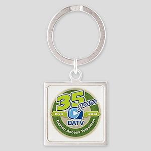 DATV 35th Anniversary Square Keychain