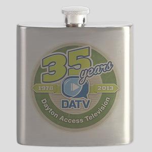 DATV 35th Anniversary Flask