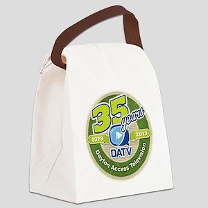 DATV 35th Anniversary Canvas Lunch Bag