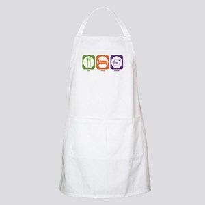 Eat Sleep Courier BBQ Apron