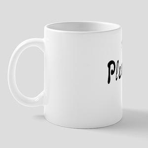 PlumeNotes Black Logo Mug