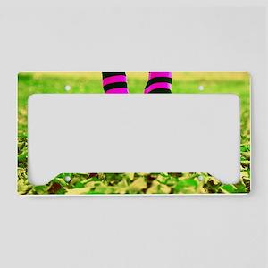 Happy Socks Cat Forsley Desig License Plate Holder