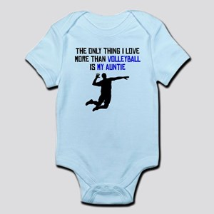 Volleyball Auntie Body Suit