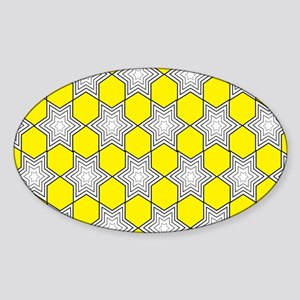 JR couture Sticker (Oval)