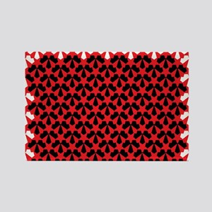 JR couture Rectangle Magnet