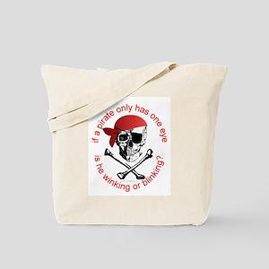 Pirate Humor Tote Bag