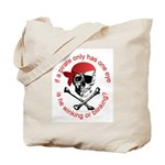 Pirate Humor Tote Bag
