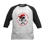 Pirate Humor Kids Baseball Jersey