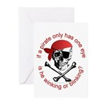 Pirate Humor Greeting Cards (Pk of 10)