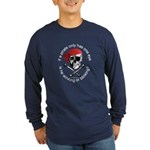 Pirate Humor Long Sleeve Dark T-Shirt