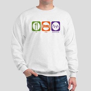 Eat Sleep Social Services Sweatshirt