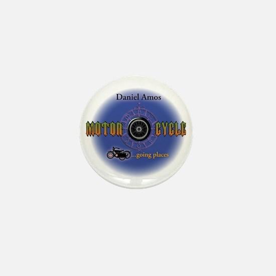 Daniel Amos - Motorcycle Mini Button