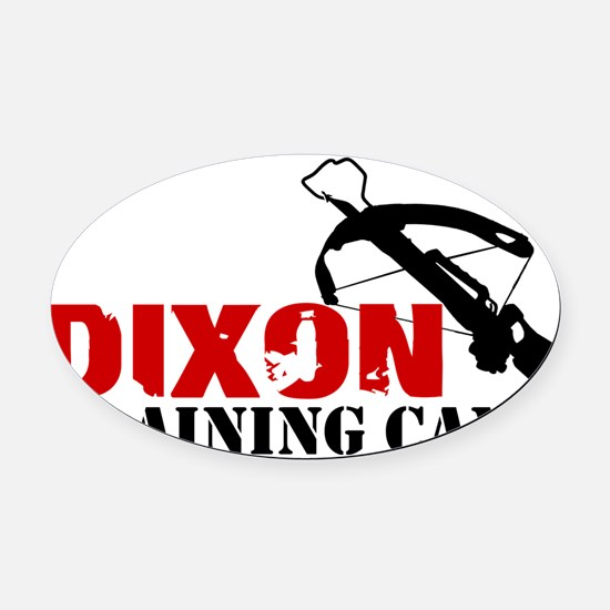Dixon Training Camp Oval Car Magnet