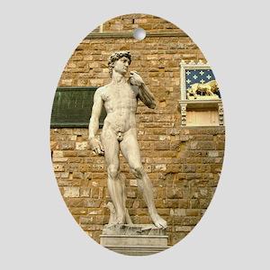 Davide Oval Ornament