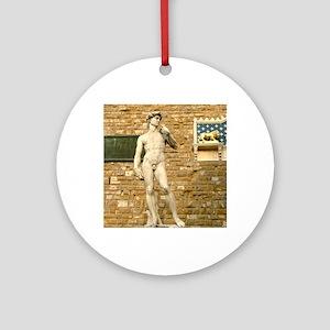 Davide Round Ornament