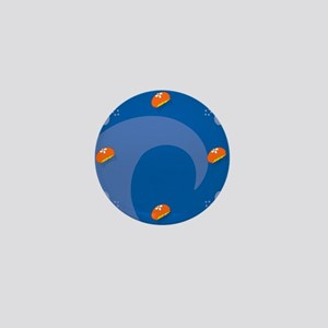Jellyfish Square Locker Frame Mini Button