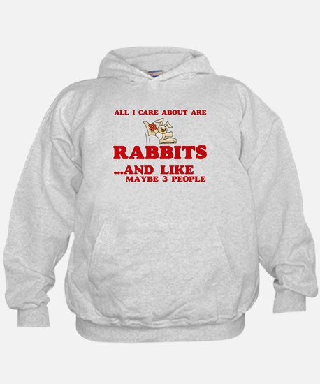 All I care about are Rabbits Sweatshirt