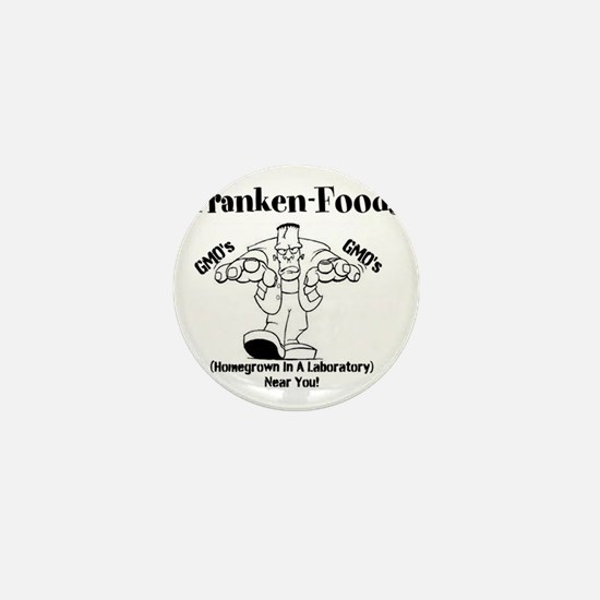 Franken-Foods Homegrown In A Lab Near  Mini Button