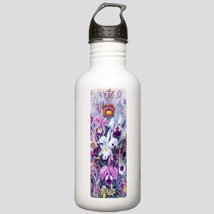 Gaiam Yoga OM Vintage  Stainless Water Bottle 1.0L