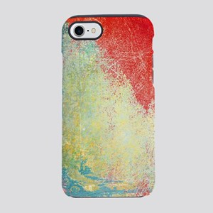 VINTAGE WALL DISTRESSED iPhone 7 Tough Case