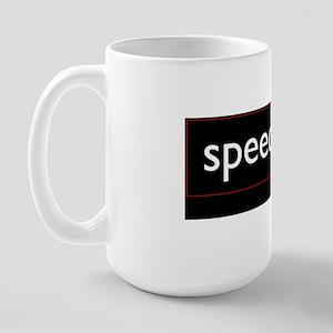 Speechless Large Mug