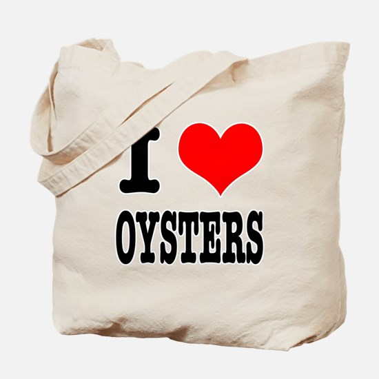 I Heart (Love) Oysters Tote Bag