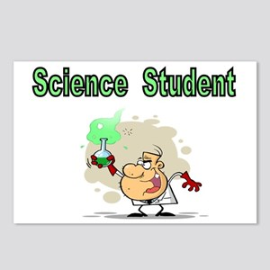 Science Student Postcards (Package of 8)