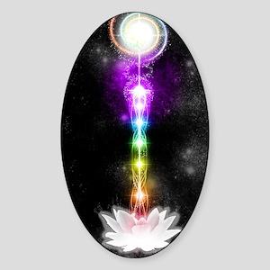 Sacred self Sticker (Oval)
